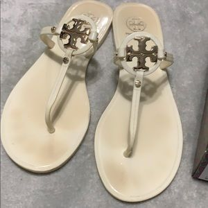 Torry Burch Mini Miller Flat Thong sandals